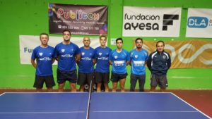 Maristas Huelva, equipo de tenis de mesa.