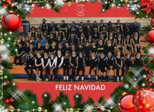 Crhistmas de Navidad del CDB Enrique Benítez.