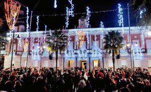 Navidad Huelva en el Ayuntamiento