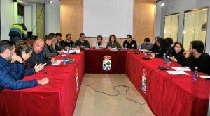Pleno sobre EDUSI celebrado hoy en Isla Cristina