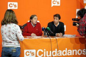 Rueda de prensa de Ciudadanos Huelva