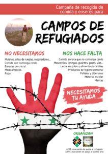 ayuda humanitaria refugiados