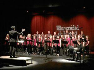 Coro de la Universidad de Huelva.