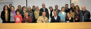 foto de familia, con los POetas del  Guadiana.