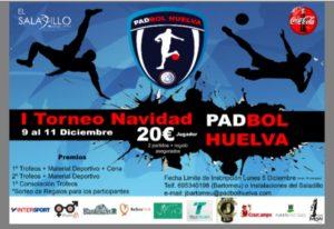 Torneo de padbol en El Saladillo.
