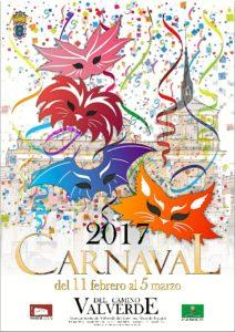 Cartel Carnaval Valverde2017