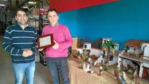 Ganador del concurso de Navidad en Aracena