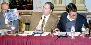Grupo Ciudadanos en el pleno de enero del Ayuntamiento de Huelva (1)