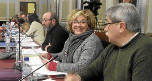 Grupo IU Ayuntamiento de Huelva en Pleno enero 2017