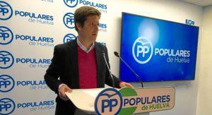 Guillermo Garcia, diputado andaluz del PP por Huelva
