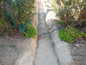 Valla rota en parque Moret de Huelva (2)