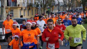 Carrera de San Silvestre de Huelva.