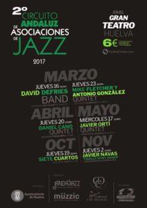 Cartel Huelva 2 Circuito Andaluz de Asociaciones de Jazz