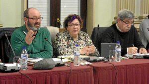 Grupo IU en el pleno de Huelva de febrero