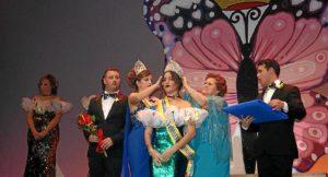 La Alcaldesa impone la Corona a Cristina Silva, Reina Juvenil