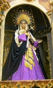 Virgen de los Dolores de la Hermandad de La Merced de Huelva (2)