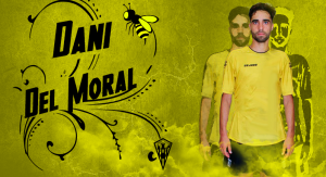 Dani del Moral, nuevo jugador del San Roque de Lepe.