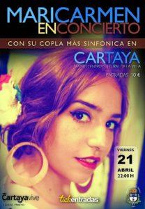 010317 CARTEL Concierto Copla cartaya 0