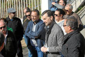 Antonio Maillo en Aracena