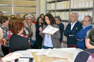 Aula de la Experiencia visita el Obispado de Huelva (2)
