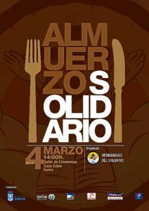 Cartel Almuerzo Solidario