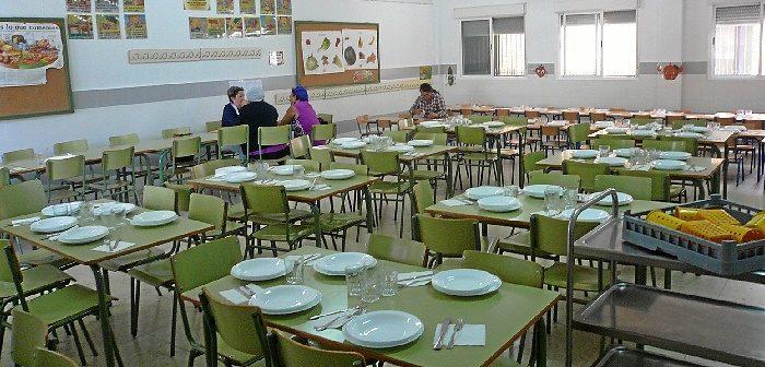 5,7 millones de euros para el servicio de comedor escolar