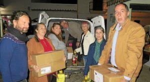IU Cartaya entrega ayuda humanitaria al pueblo saharaui02