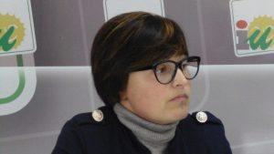 Isabel Lancha, concejala IU en el Ayuntamiento de Nerva