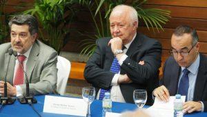 Presidentes puertos Huelva y Tenerife