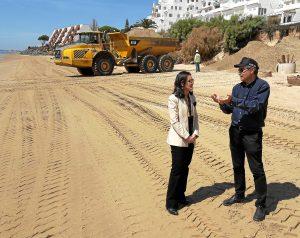 20170403 Visita obras Costas playa El Portil