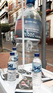 Botellas Stand folletos