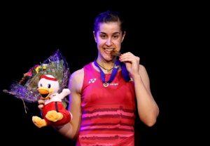 Carolina Marín, campeona de Europa de bádminton.