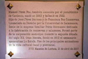 Placa Cardenio Ayamonte