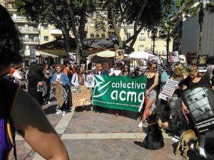 Protesta del Cacma en Huelva (2)