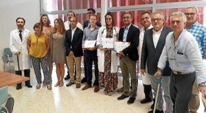 Acogida residentes 2017 premiados
