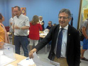 Francisco Ruiz vota