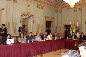 Grupo Popular en el pleno de mayo del Ayuntamiento de Huelva (1)