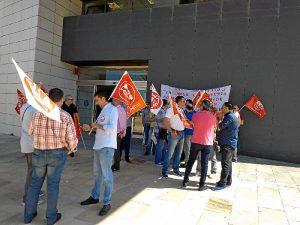 Protesta trabajadores seguridad (2)
