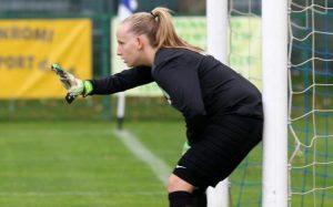 Eva Bamberger, nueva portera del Cajasol Sporting.
