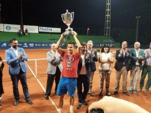 Attila Balazs, campeón de la 92 Copa del Rey de tenis.