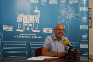 Apoyo equipo gobierno de Valverde a sanitarios hospital Riotinto