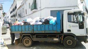 Ayuda solidaria Aracena a vicitmas incendio Portugal