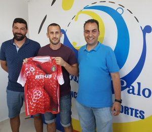 David Pereira, nuevo jugador del CD Pinzón.