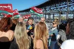 Marcha medio ambiente de Comisiones Obreras (3)