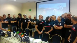 Rueda de prensa bomberos Consorcio Provincial