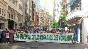 regantes Condado Huelva