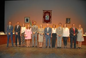 El nuevo Equipo de Gobierno de Isla Cristina (1)