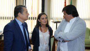 20170828 Sanz, subdelegada y alcalde Huelva