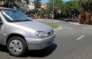 Accidente en la rotonda Ivonne Cazenave (2)