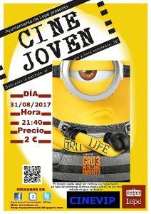 Cine Joven 31082017